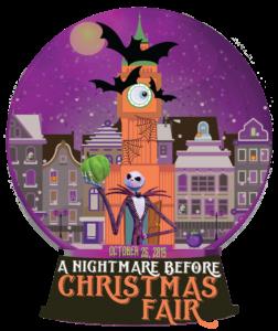 Nightmare before christmas fair globe
